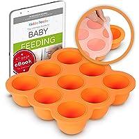 KIDDO FEEDO Système de Conservation Purée - Boîte de Conservation Des Aliments Bébé avec Couvercle en Silicone - Sans…