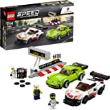LEGO- Speed Champions Porsche RSR e Turbo, Multicolore, 75888