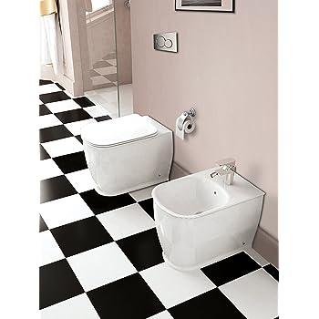 37c017b436bd Yellowshop - Sanitari Bagno A Terra Pavimento Filo Muro Mod. Epoca Classico  Vaso Wc +