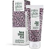 Gel Intime Australian Bodycare Intim Glide (100 ml) | Gel Lubrifiant d'Eau et d'Huile d'Arbre à Thé Naturelle | Confort des O