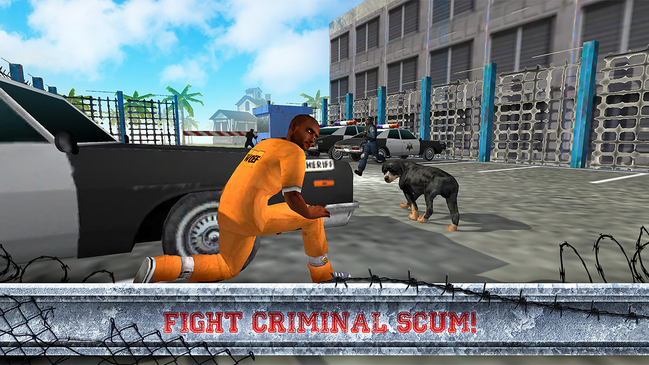 Police Rottweiler Dog Simulator: Clan of Dogs Lovely Pets