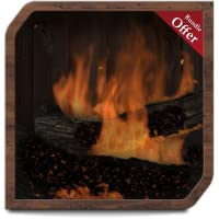 Virtual Fireplace HD - TV Theme for Romantic Night