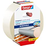 tesa Flooring Tape Residue-free Removal, 25m x 50mm, wit