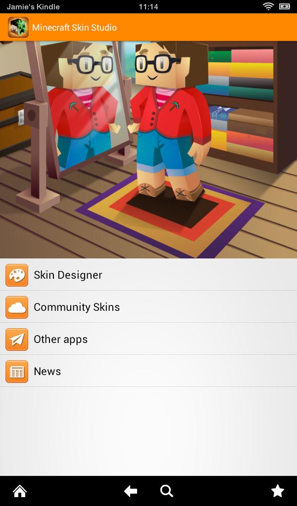 Minecraft Skin Studio Amazonde Apps Für Android - Minecraft skins erstellen spielen es