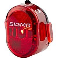 Sigma Sport NUGGET II Fahrradbeleuchtung, Rot, One Size