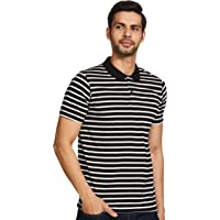 Cazibe Men's Striped Regular fit T-Shirt