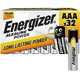 Energizer Piles Alkaline Power AAA, 32 Unités