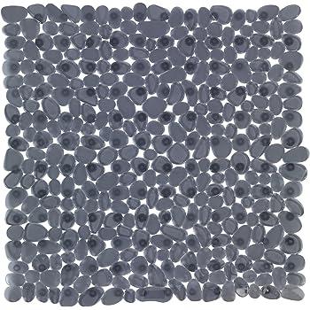 Farbe:Grau Duscheinlage mit Noppen 53x54cm Anti Rutsch Matte Duschmatte Badematte Einlage