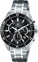 Casio Edifice Men's Dial Stainless Steel Band Watch - EFR-552D-1A