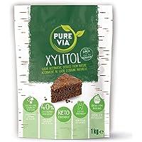 Pure Via - Xylitol 100% issu de bouleau | 1 x 1 kg