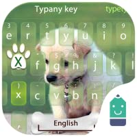 Cute Puppy Theme&Emoji Keyboard