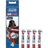 Oral-B Stages Testine di Ricambio per Spazzolino Elettrico Ricaricabile, con Personaggi Disney Star Wars, Appositamente per B