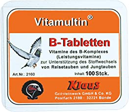 VITAMULTIN - B-Komplex - 300 ml - zur Förderung des Stoffwechsels und Schutzwirkung auf den Magen-Darm-Trakt bei Tauben