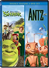 2 Animation Movies Collection: Shrek + Antz