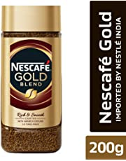 Nescafe Gold Rich and Smooth Coffee Powder, 200g Glass Jar