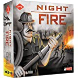 KAADOO Night FIRE - Action-Packed Strategy Board Game for 10 Years and Above, Kids & Adults, 2-4 Players, Multi-Color, Made i