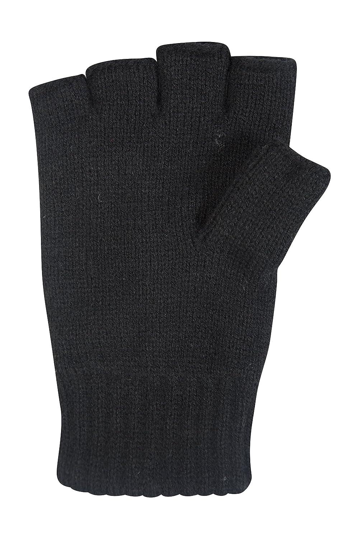 Fingerless gloves asda - Mountain Warehouse Fingerless Knitted Mens Womens Unisex Everyday Lightweight Winter Gloves Black Amazon Co Uk Sports Outdoors
