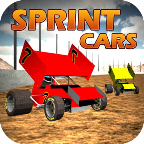 Sprint Car Dirt Track