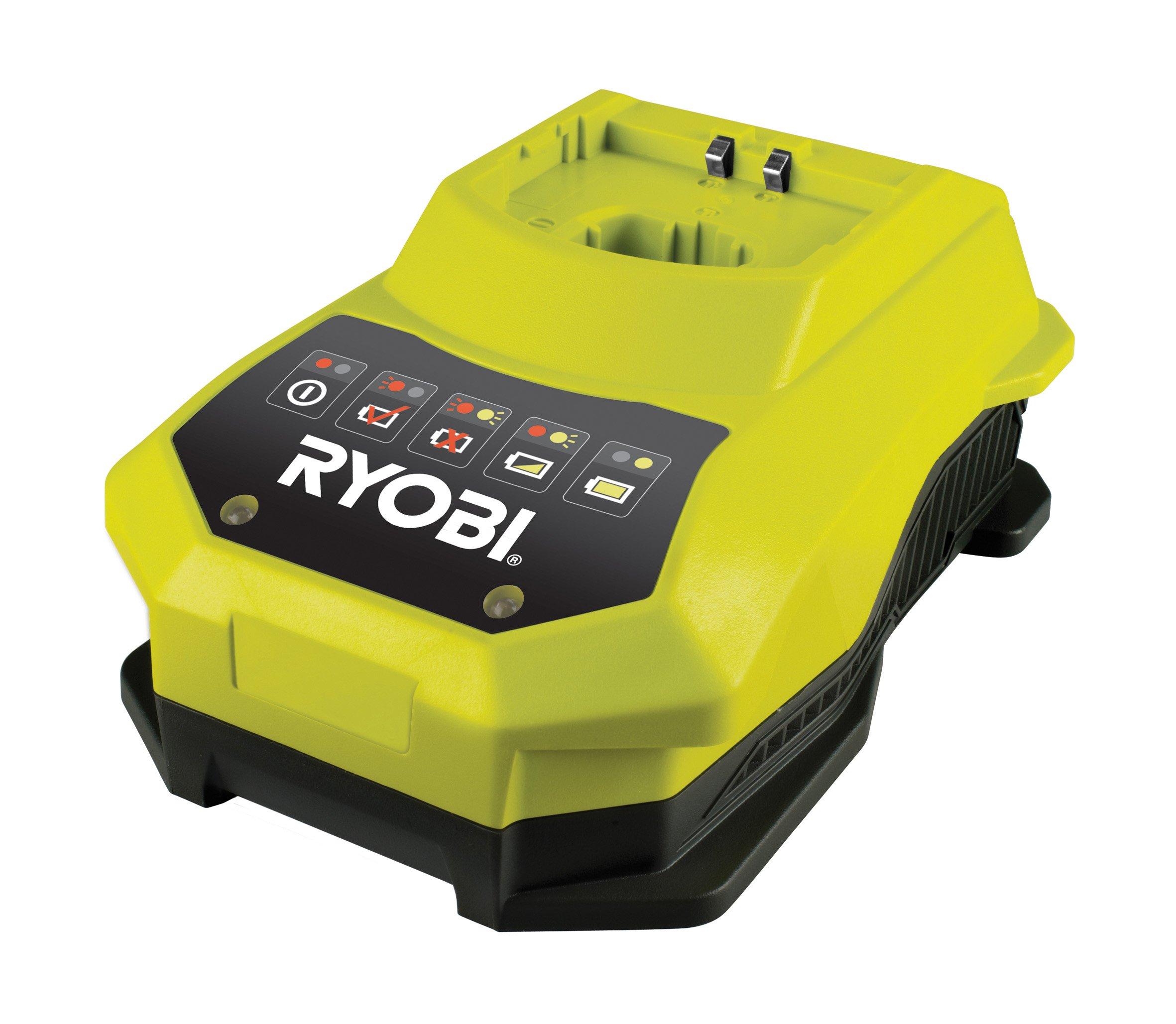 Ryobi 4892210117991 Chargeur Rapide 18 V