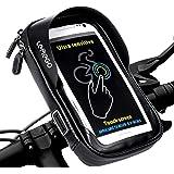 LEMEGO Bolsa Bicicleta Manillar para Ciclista Ciclismo, Bolso de Bici Impermeables Soporte Móvil teléfono para teléfonos móvi