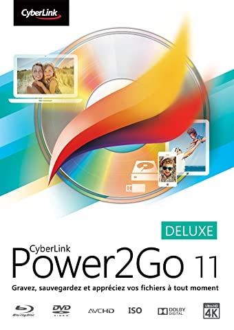 CyberLink Power2Go 11 Deluxe [Téléchargement]