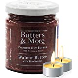 Butters & More Vegan Walnut Butter with Natural Blueberries (200G) No Artificial Flavours Or Colour. with a Surprise…