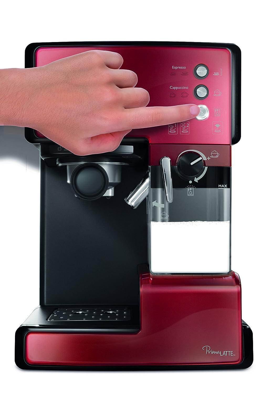 Frontansicht der Breville VCF045X Prima Latte Kaffeemaschine Espresso-Siebträgermaschine bis 200 Euro