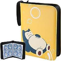 Hautton Porta Carte Pokemon, Album Raccoglitore Carte Figurina Pokémon Grande Album per Carte GX Ex Pokemon, PU Album di…