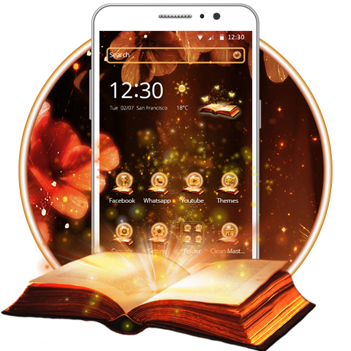 Magic Book Theme And Live Wallpaper Amazonfr Appstore Pour Android