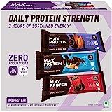 RiteBite Max Protein Daily (Assorted Energy Bars - Pack of 6)(Variety Bars - Choco Classic - 2, Choco Almond - 2, Choco Berry