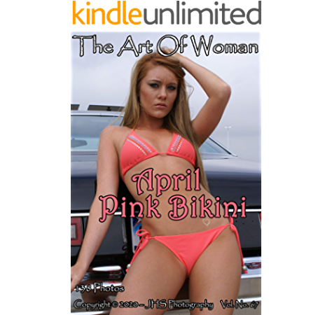 "Hot blond girl gun pink bikini Refrigerator Magnets Size 2.5/"" x 3.5/"""