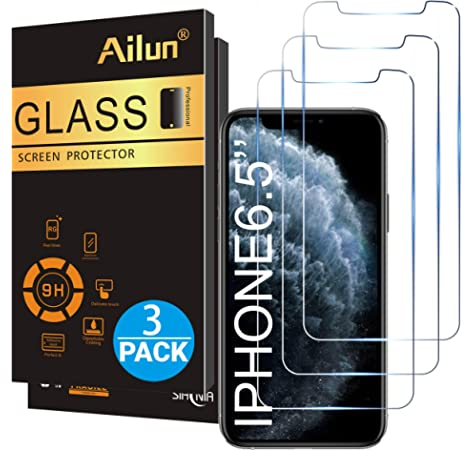 2019 GzPuluz Glass Protector Film 25 PCS 9H 10D Full Screen Tempered Glass Screen Protector for iPhone X//XS//XI