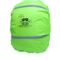 Weatherman wasserdichter Regenschutz für Schulranzen und Rucksack, Signalfarbe, mit Gummizug, Regenhülle…
