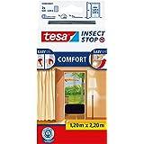 tesa Insect Stop Comfort Vliegenhor - Insectenhor voor deuren - Maak van jouw deur een hordeur met deze muggenhor - Antraciet