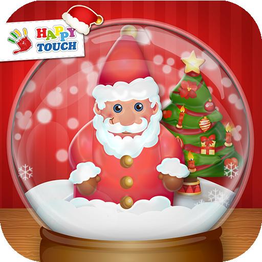 Schneekugeln mit Schütteleffekt (von Happy Touch Weihnachtsapps)