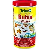 Tetra Rubin Hauptfutter (für Zierfische, für intensive Farbenpracht mit natürlichen Farbverstärkern, plus Präbiotika für…