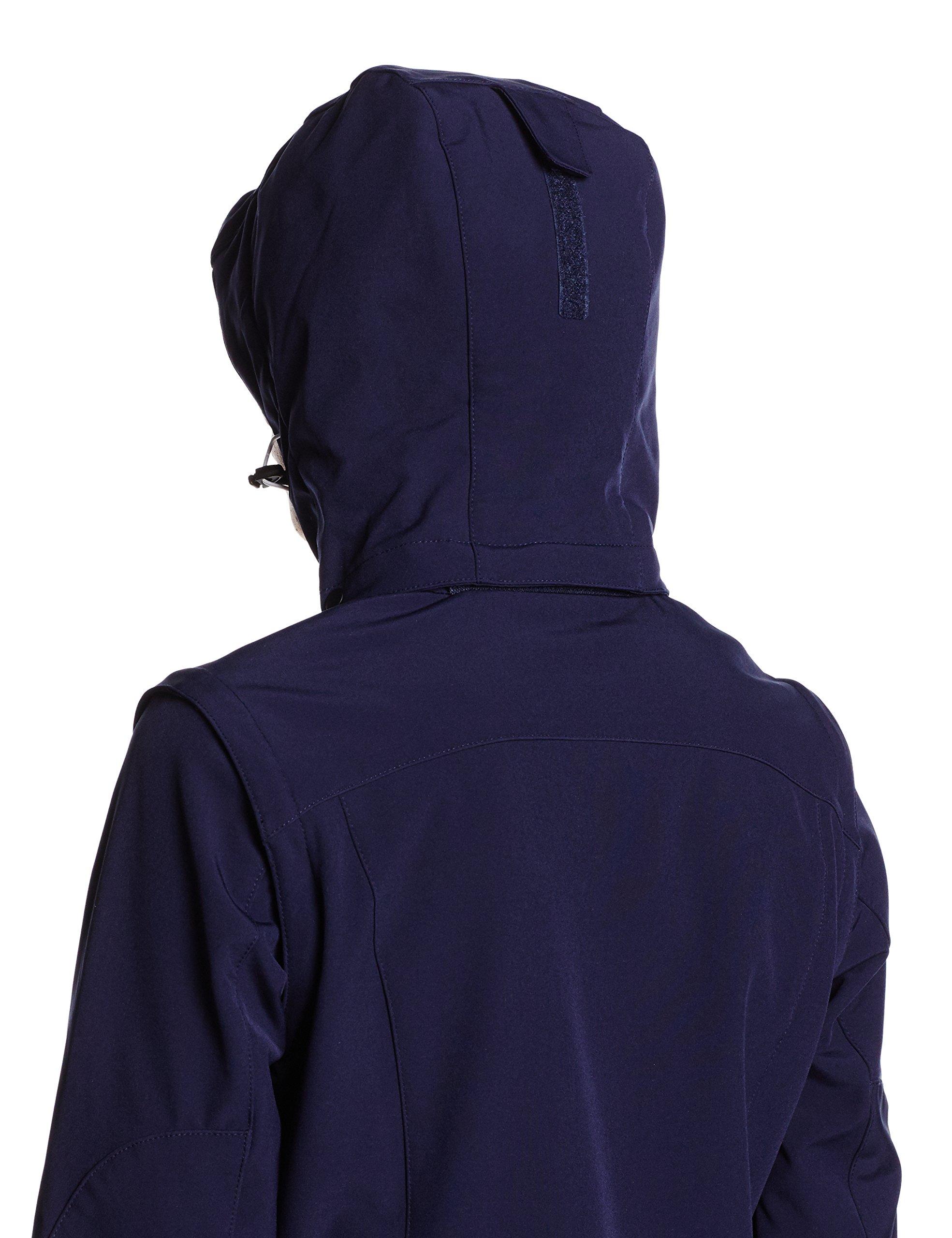 81e1DrGycGL - ICEPEAK Leonie Women's Soft Shell Jacket,