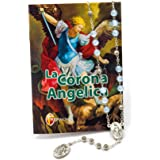 La corona Angelica e Corona del Rosario Di San Michele In confezione regalo
