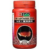 AZOO Arowana Sticks | 9 in 1 | 900ml | Aquarium Fish Food