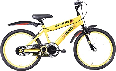 Hero Blast 20T Single Speed Cycle (Yellow)