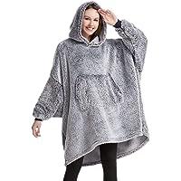 HORIMOTE HOME Oversized Blanket Hoodie for Women Snuggle Hoodie for Adults Teen Kids Wearbale Blanket Sweatshirt, Super…