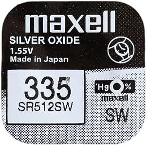 One X Maxell 335 Sr512sw Silberoxid Uhrenbatterie Elektronik