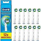 Oral-B Precision Clean elektrische tandenborstelkop met CleanMaximiser-technologie, overmaat plaquetverwijderaar, 12 stuks, w