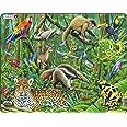 Larsen FH10 La luxuriante forêt Tropicale sud-américaine, Puzzle Cadre avec de 70 pièces