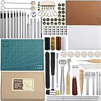 Kit d'outils de couture du cuir 44 pièces