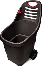 UPP Multifunktions-Gartentrolley | Trolley | Bio Abfallwagen | Schubkarre | Gartenkarre | Laubkarre | Sackkarre | Werkzeugkarre | Max. Belastbarkeit 50 kg | Fassungsvermögen 65 Liter
