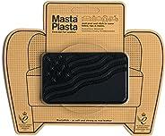 MastaPlasta - Parches autoadhesivos para reparación de Cuero y Otros Tejidos. Negro. Elije el tamaño y el diseño. Primeros A