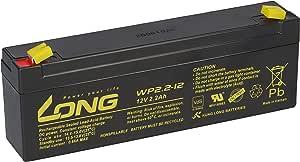 12v 2 2ah Long Wp2 2 12 Vds Akku Agm Blei Batterie Elektronik