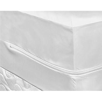 Bed Bug Mattress Cover.Highliving Bed Bug Mattress Protector Zippered Waterproof