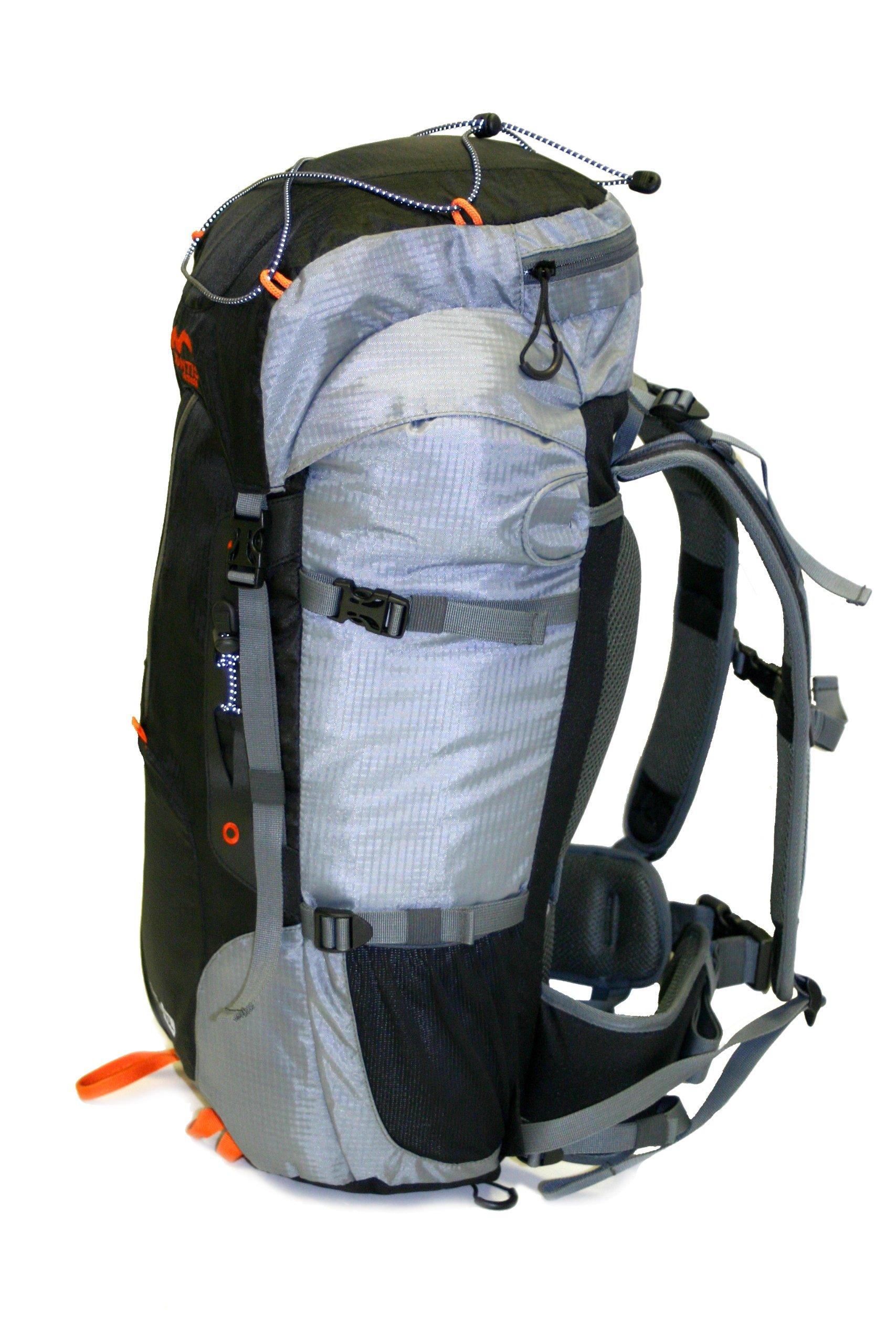 81e6OqMjLaL - MONTIS Leman 45, Mochila de Ruta, Trekking y Viajes, 45 l, 1300 g
